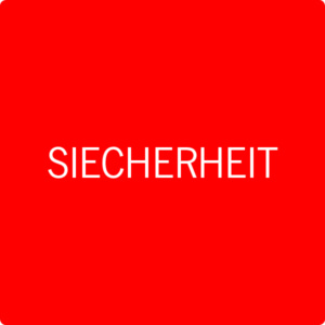 siecherheit