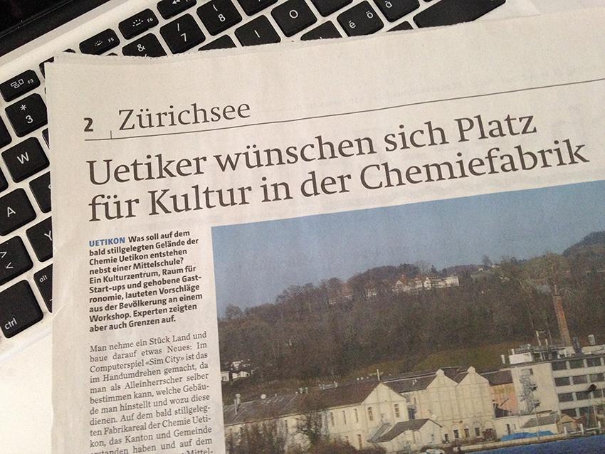 Zwischennutzung: Neues Kunst&Kultur-Zentrum Bezirk Meilen