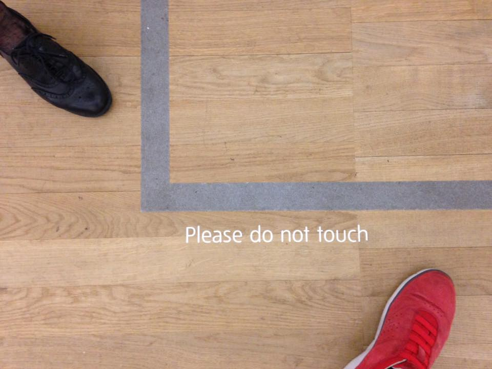 PLEASE DO NOT TOUCH (Unknown Artist 2018)